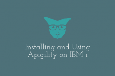 Installing and Using Apigility on IBM i